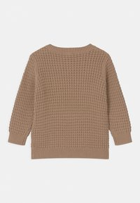 Lindex - WAFFLE UNISEX - Jumper - brown - 1