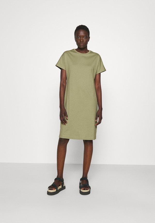 EFFIE DRESS - Robe en jersey - sage green