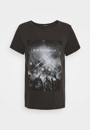 NMNATE FESTIVAL - T-shirt print - black