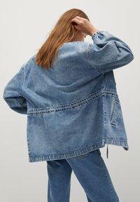 Mango - COLETTE - Denim jacket - medium blue - 2