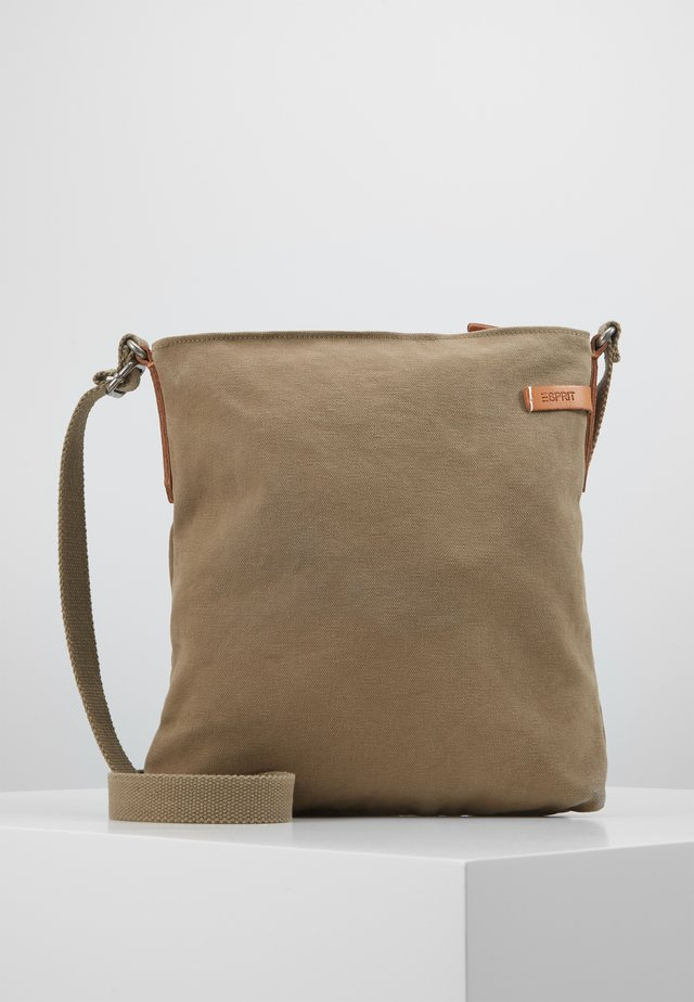 ROWENASHLBG - Handbag - light khaki