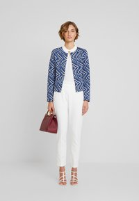 TOM TAILOR - Blazer - blue/offwhite - 1