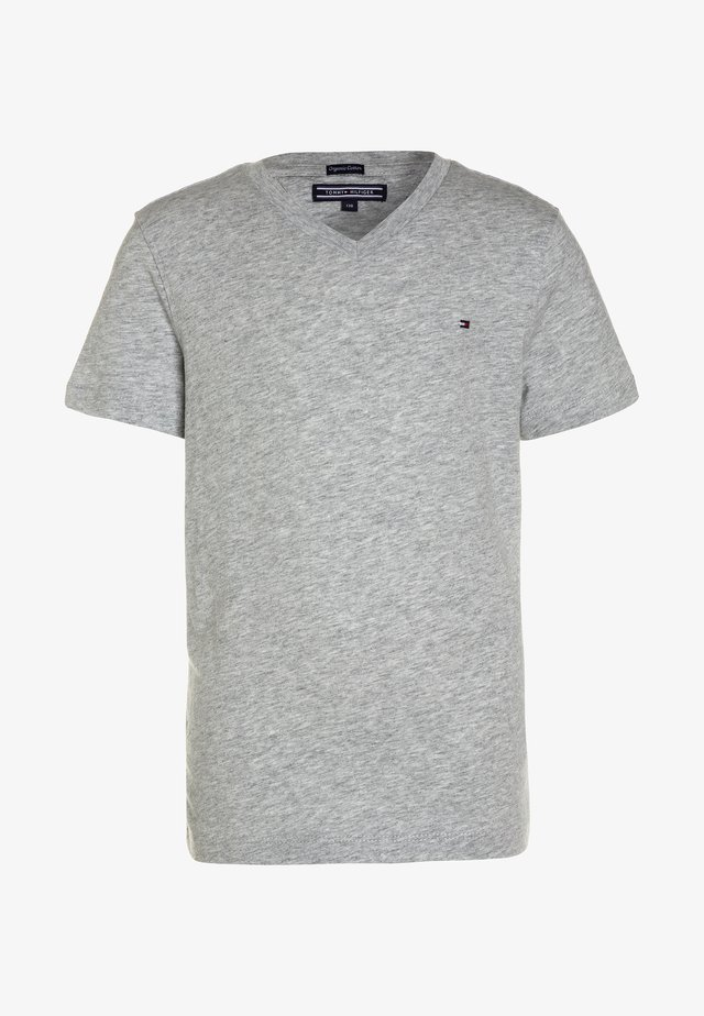 BOYS BASIC  - Jednoduché triko - grey heather