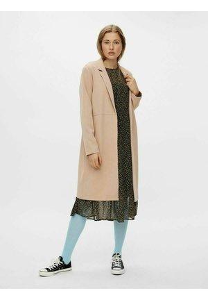 Short coat - warm taupe