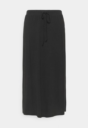VMAVA ANCLE SKIRT - A-line skirt - black