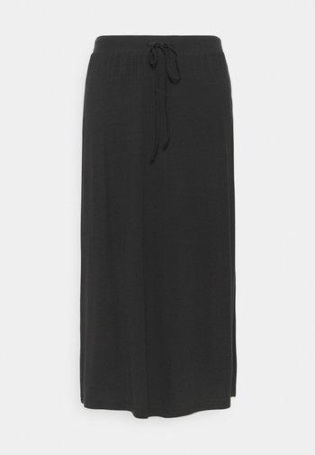 VMAVA ANCLE SKIRT - A-line skirt - black