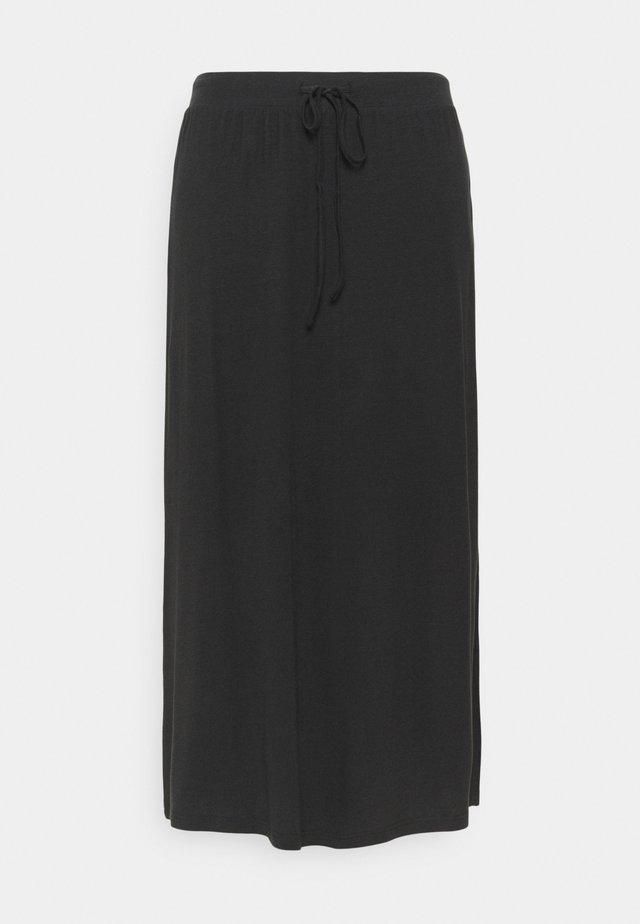 VMAVA ANCLE SKIRT - A-lijn rok - black