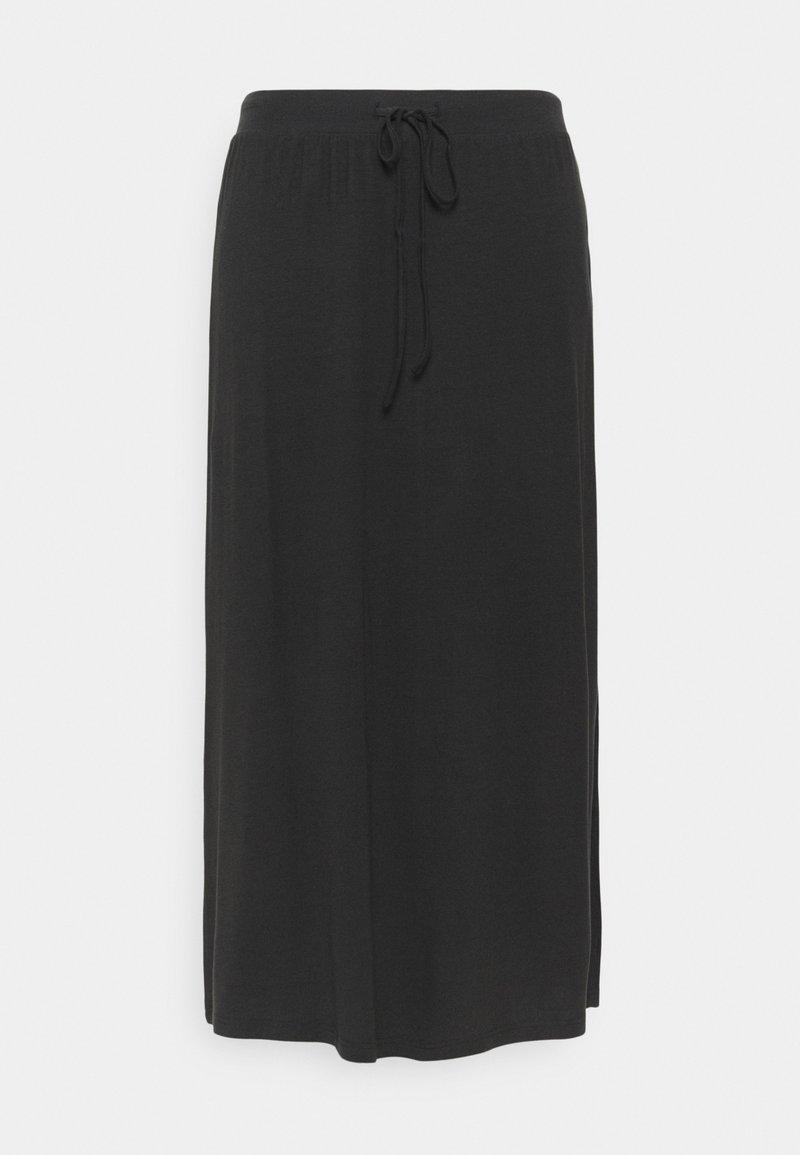 Vero Moda Curve - VMAVA ANCLE SKIRT - A-line skirt - black