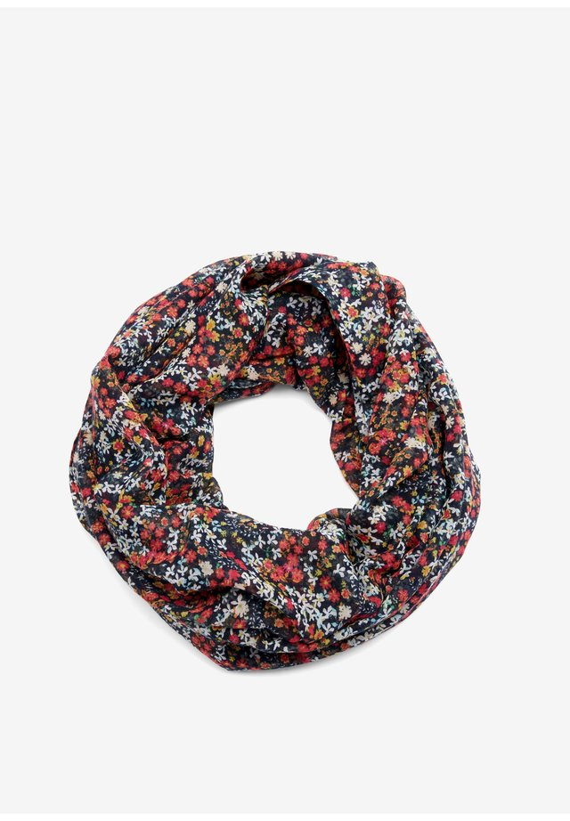 LOOP MIT ALLOVERMUSTER - Snood - blue aop