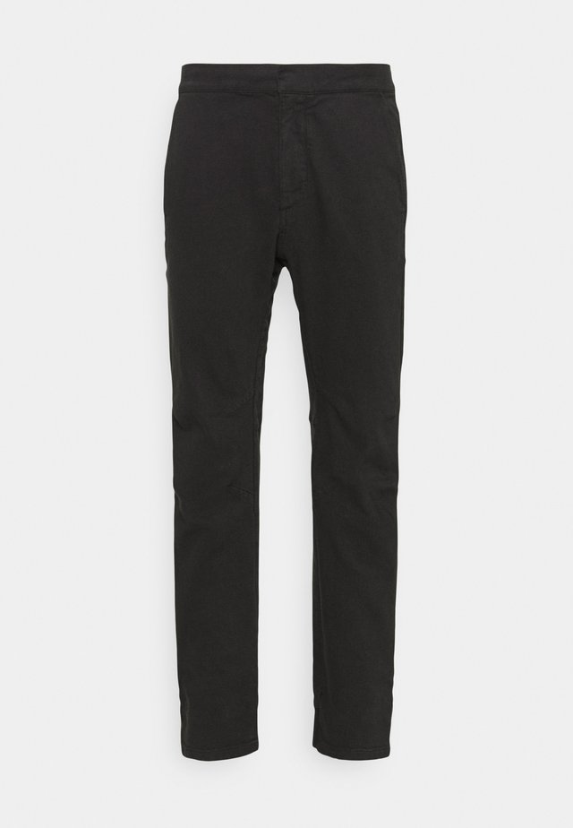 LOUNGE UTILITY JOGGER - Trousers - black
