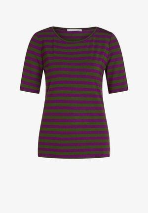 T-shirt imprimé - lilac green