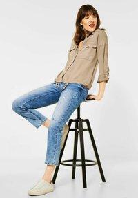 Street One - Button-down blouse - beige - 2