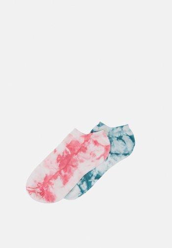 TRAINER SOCKS 2 PACK - Sokken - lagoon blue/ sorbet pink