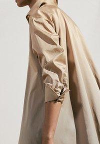 Massimo Dutti - Maxi dress - beige - 6