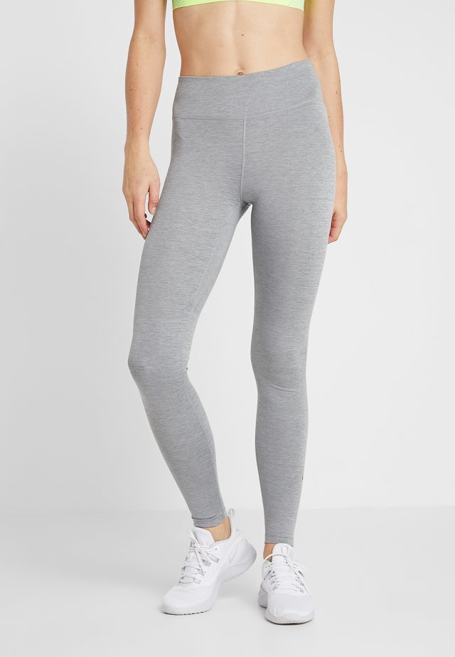 ONE - Leggings - dark grey/heather/black
