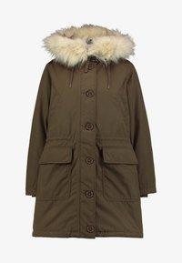 LUXE - Winter coat - olive
