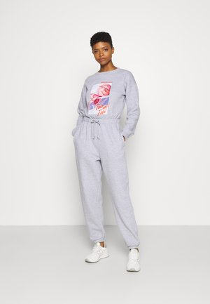 USA GRAPHIC CASUAL - Jumpsuit - grey