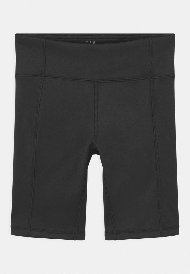 GAP - GIRL FIT BIKE - Shorts - true black