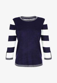 Laura Kent - Sweatshirt - marineblau,weiß - 4
