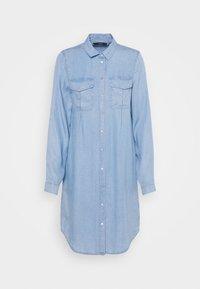 Vero Moda - VMVIVIANAMIA REGULAR DRESS - Denim dress - light blue - 6