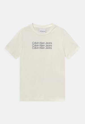 REG TEE UNISEX - Print T-shirt - off-white