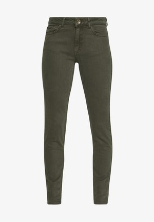 TROUSER - Jeans slim fit - dark leaf