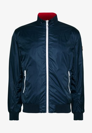 MENS REVERSIBLE - Summer jacket - navy blue
