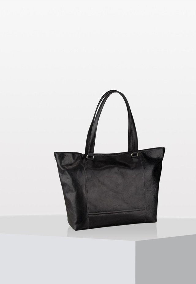 LUGANO  - Shopping Bag - black