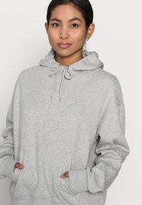 Even&Odd Petite - Sweat à capuche - mottled light grey - 3