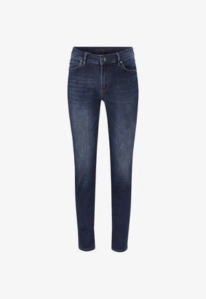 Slim fit jeans - dark denim blau