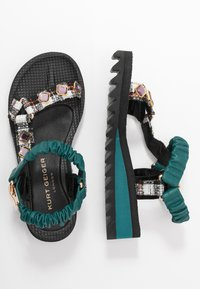 Kurt Geiger London - ORION - Wedge sandals - multicolor - 3