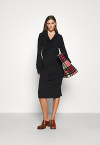 Vivienne Westwood - CLIFF DRESS - Jersey dress - black - 1
