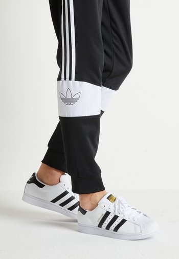SUPERSTAR UNISEX - Matalavartiset tennarit - footwear white/core black