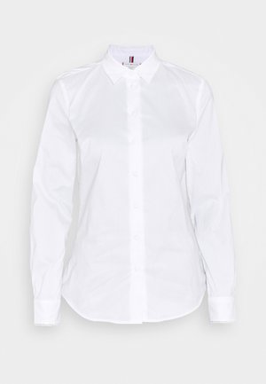 BRITTANY SLIM SOLID SHIRT - Koszula - optic white