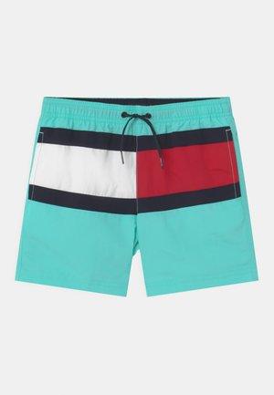 MEDIUM DRAWSTRING - Swimming shorts - green