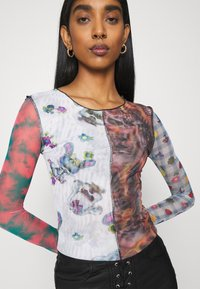 NEW girl ORDER - SPLICED PATCHWORK - Long sleeved top - multi - 3