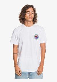 Quiksilver - Print T-shirt - white - 0