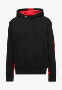 INLAY TAPE HOODYEXCLUSIV - Hoodie - black