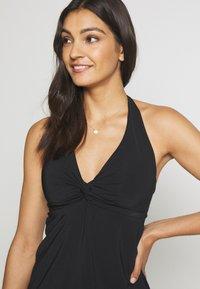 JETS Australia - TWIST SINGLET - Bikini top - black - 3