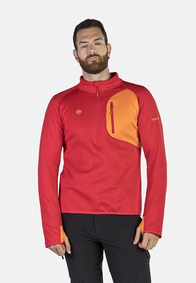 LALOC - T-shirt de sport - red/orange