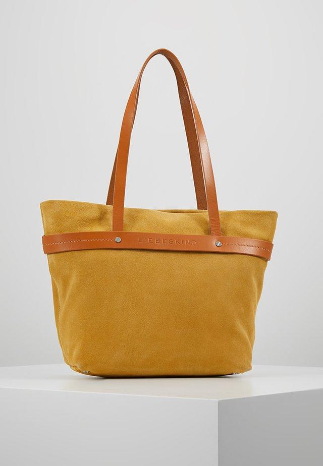 Bolso de mano - tawny yellow