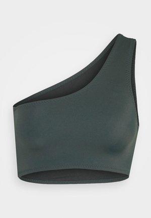 PORTO SWIM - Bikini top - dark army green