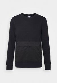 JCOCLOCK CREW NECK - Sweatshirt - black