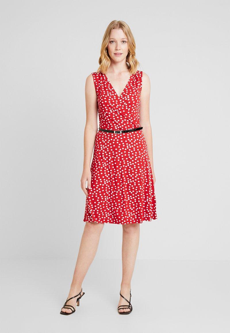 Anna Field - Day dress - white/red