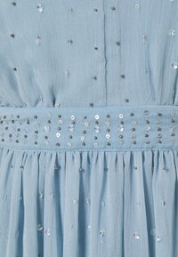 VILA PETITE - VICELOSIA SEQUIN ANKLE DRESS - Day dress - ashley blue - 2
