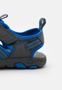 KangaROOS - K-ROAM - Walking sandals - steel grey/brilliant blue - 5