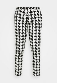 Twisted Tailor - FUGAZI TROUSERS - Kalhoty - black/white - 4