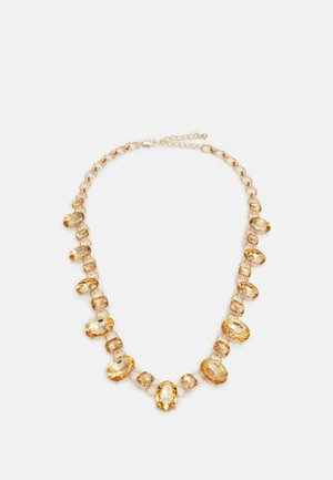 PCREEM NECKLACE - Necklace - gold-coloured/burnt orche