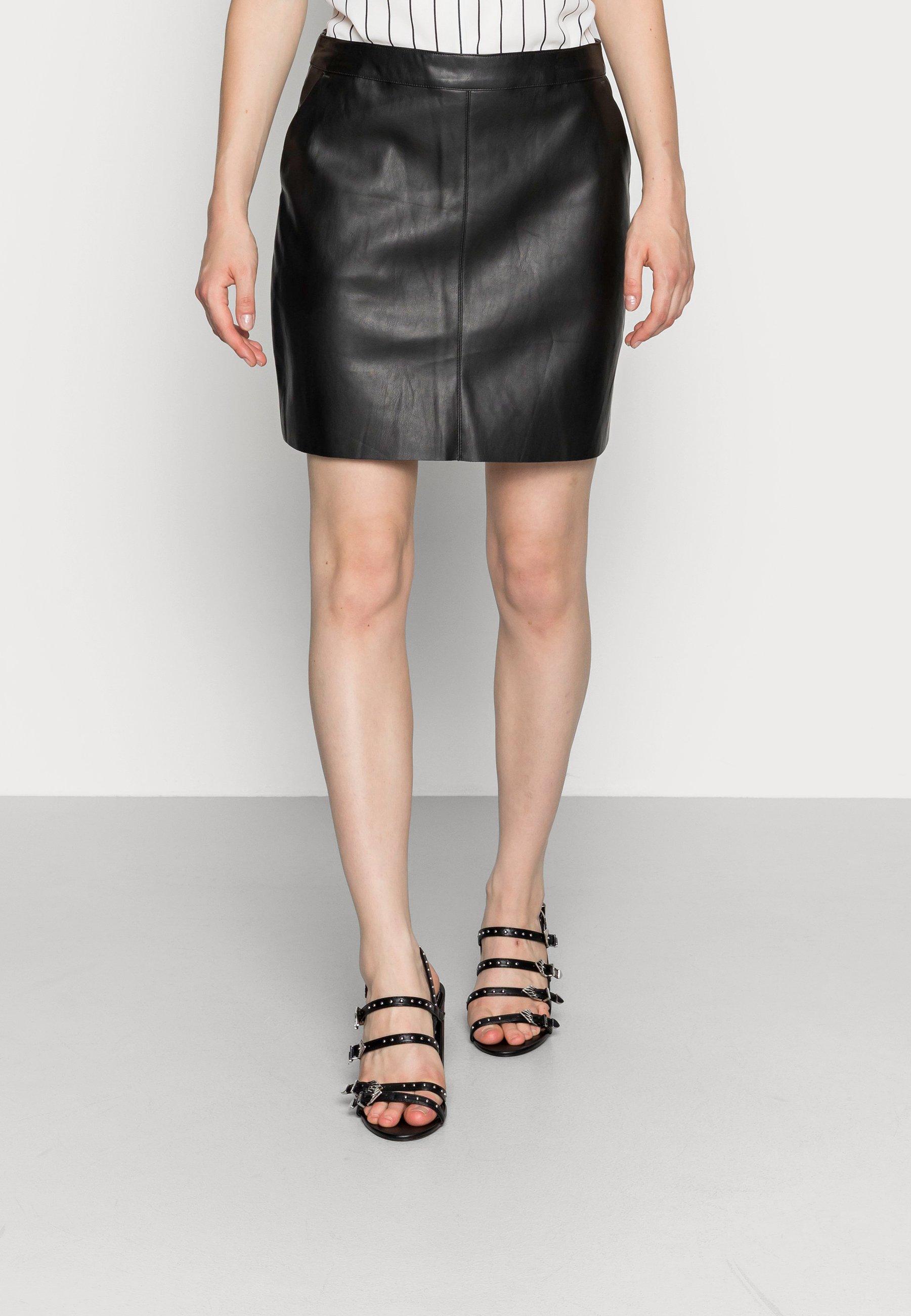 Mujer VMYOURS BUTTER SHORT SKIRT - Minifalda