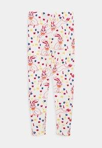 Mini Rodini - RABBIT UNISEX - Leggings - Trousers - offwhite - 1